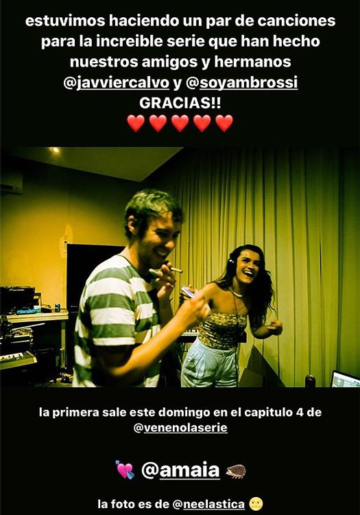 Amaia Romero se confiesa