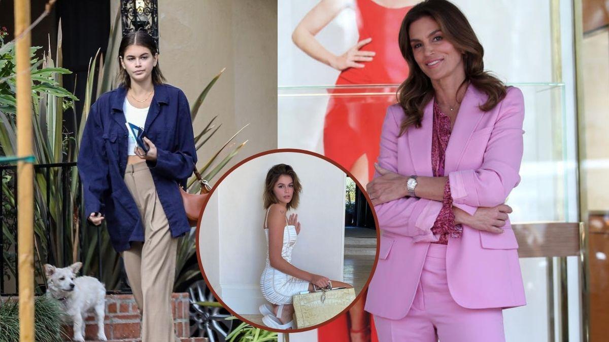 Kaia Gerber, entre las hijas de top models más famosas, y Cindy Crawfor
