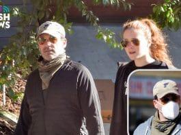 Jon Hamm con su novia, Anna Osceola