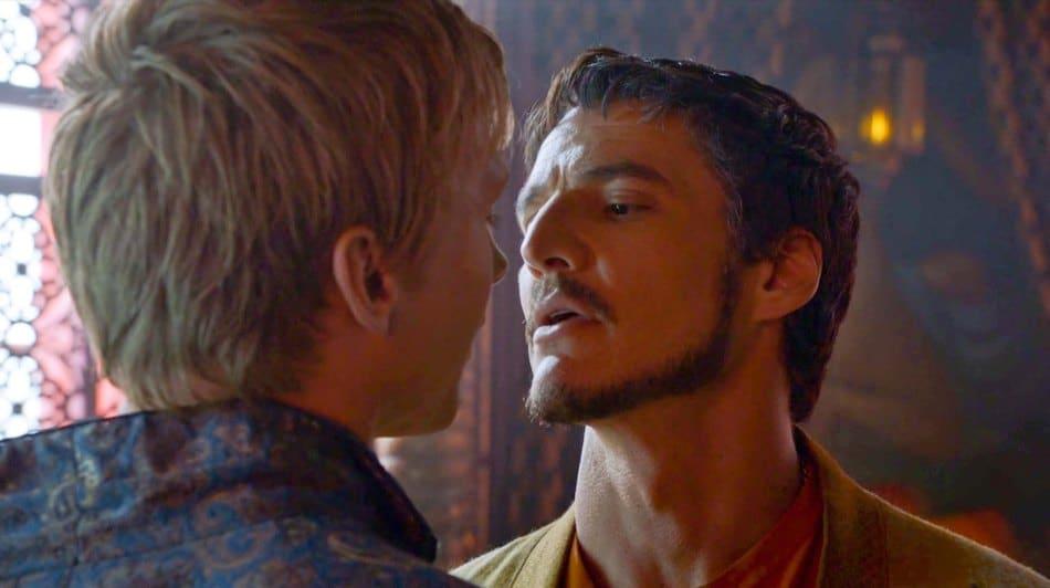Oberyn y Olyvar en Juego de tronos