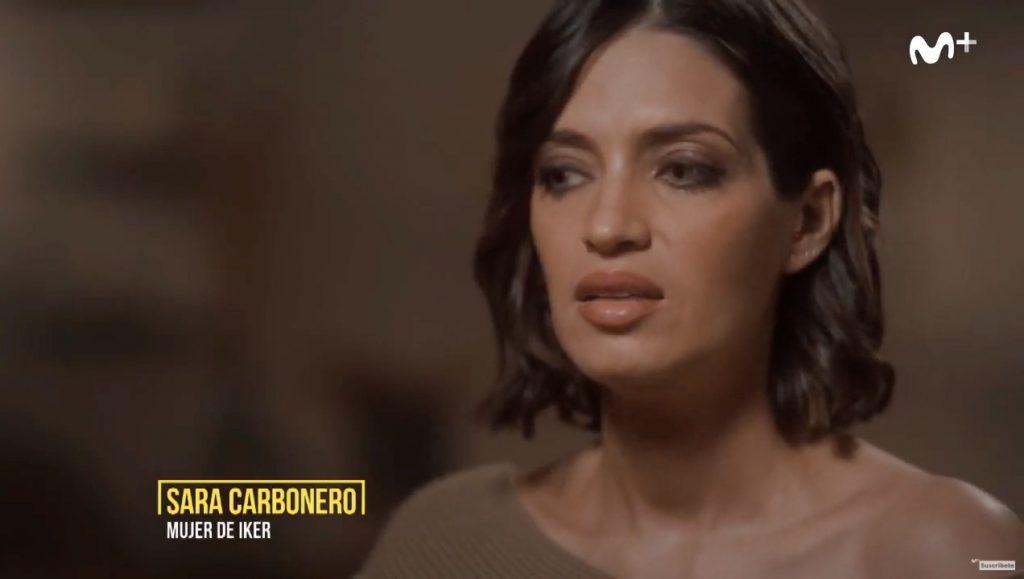 Sara Carbonero, en el documental Colgar las alas