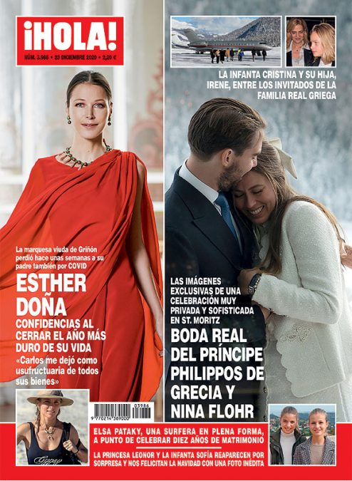 La boda real griega portada Hola.