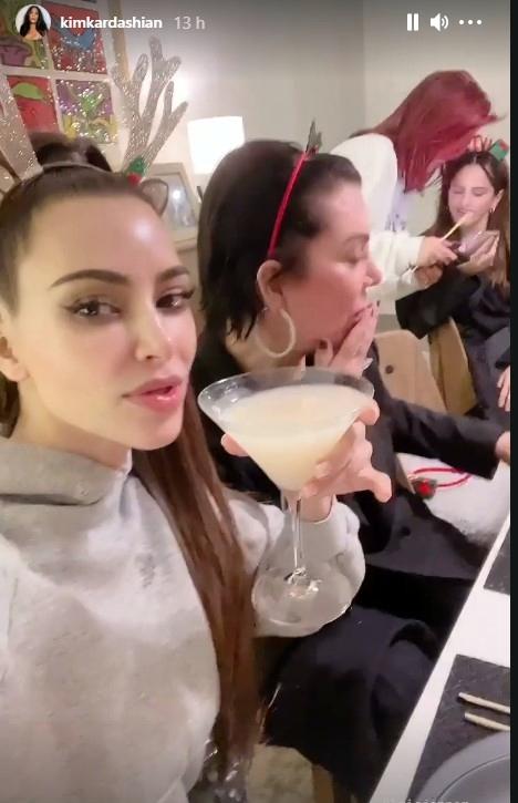 Rosalía fiesta Navidad