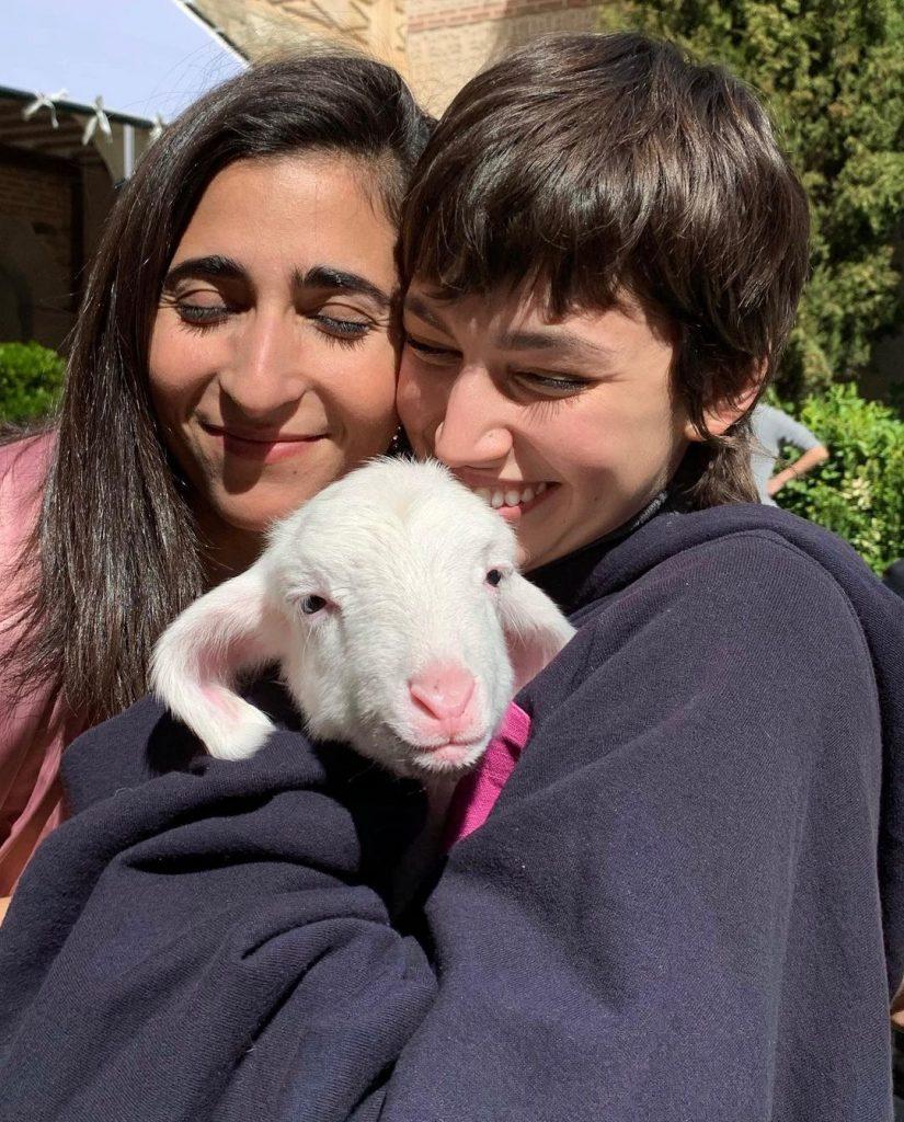 Alba Flores y Úrsula Corberó en Instagram