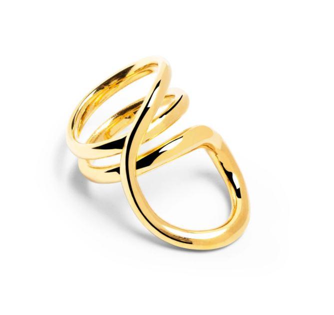 Copia del anillo preferido de doña Letizia.