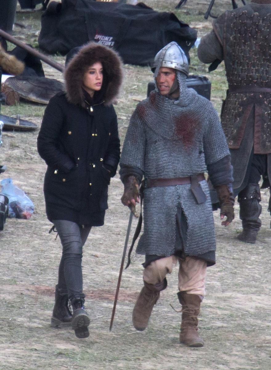 María Lorente y Jaime Pedraza han roto: hace unos meses los veíamos juntos en el rodaje de la serie de Jaime