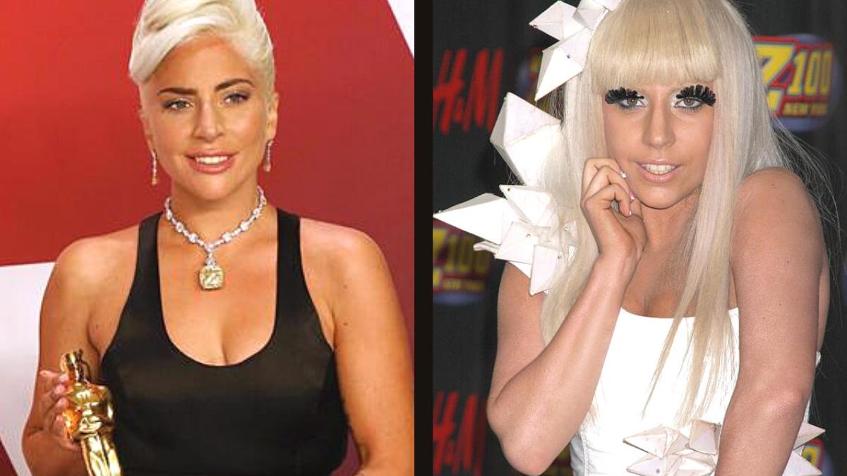 El cambio de Lady Gaga.