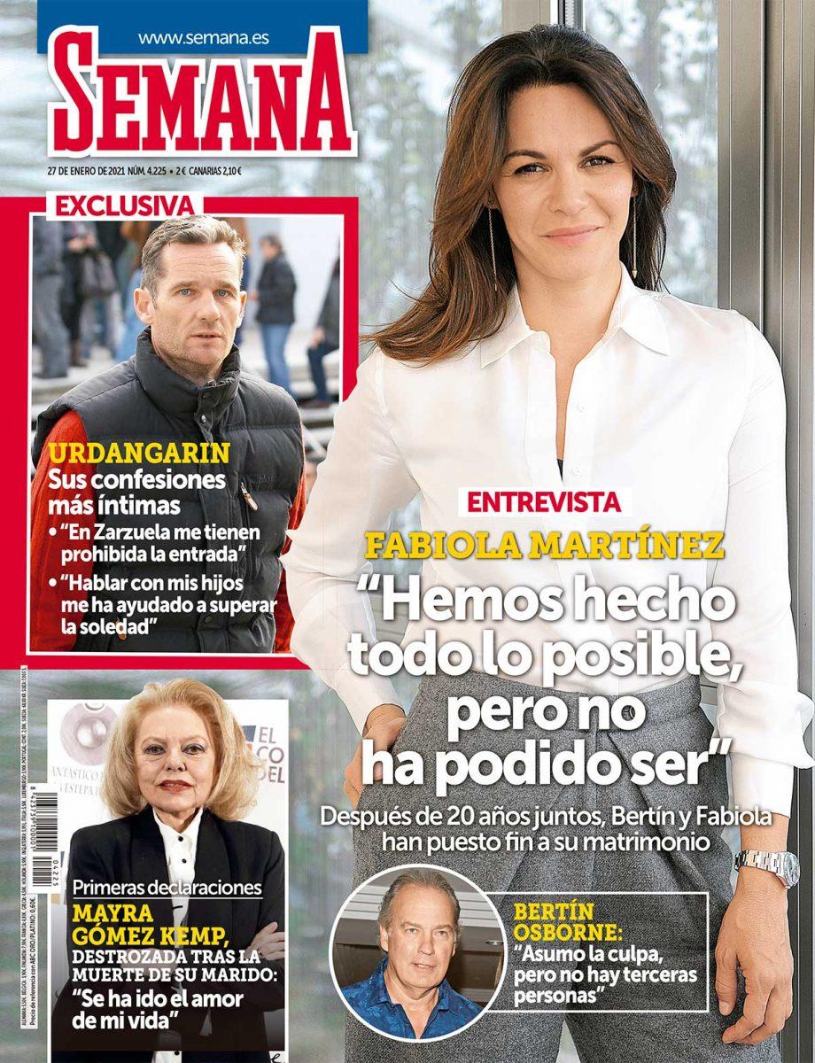 Fabiola portada de Semana.