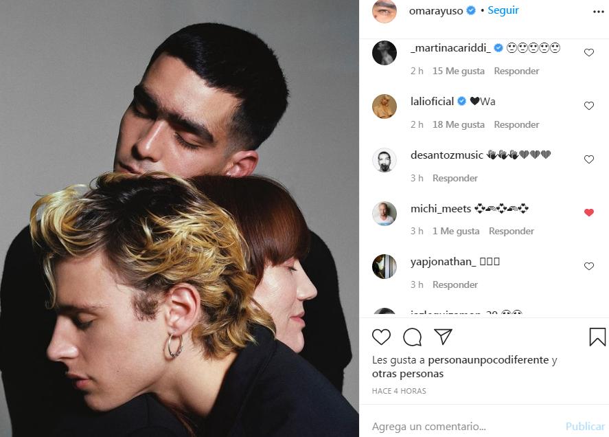 Post de Instagram de Omar Ayuso