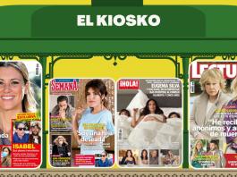Le exclusiva de Carmen Borrego en portada de las revistas.