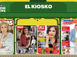 La guerra de Isabel Gemio y María TEresa Campos en las portadas.