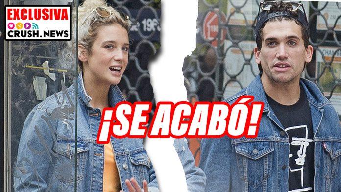 Jaime Lorente y María Pedraza han roto