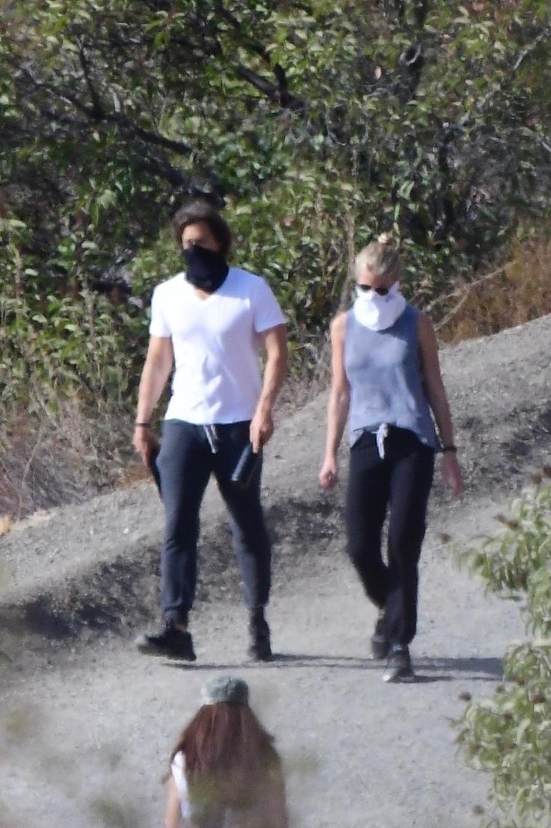 Gwyneth Paltrow y su marido, Brad Falchuk
