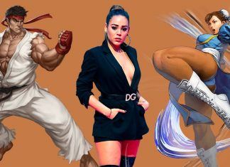danna paola street fighter