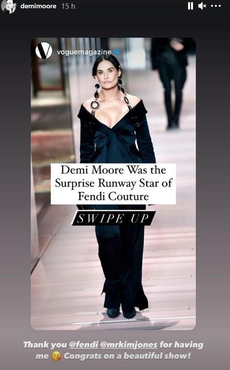 Demi Moore se ha destrozado la cara