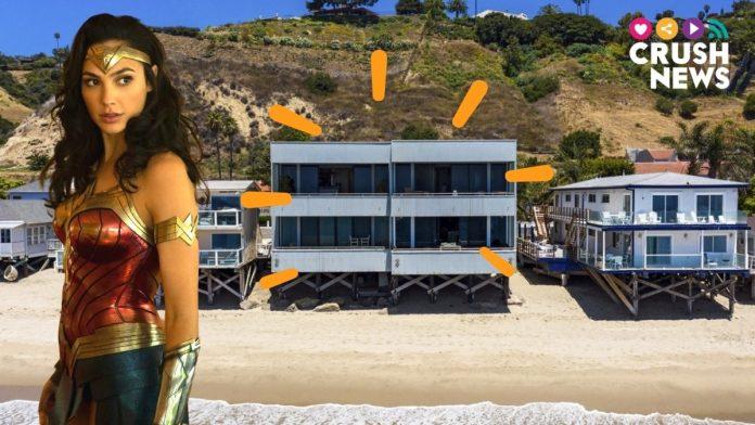 Este es el apartamento de Wonder Woman en la playa