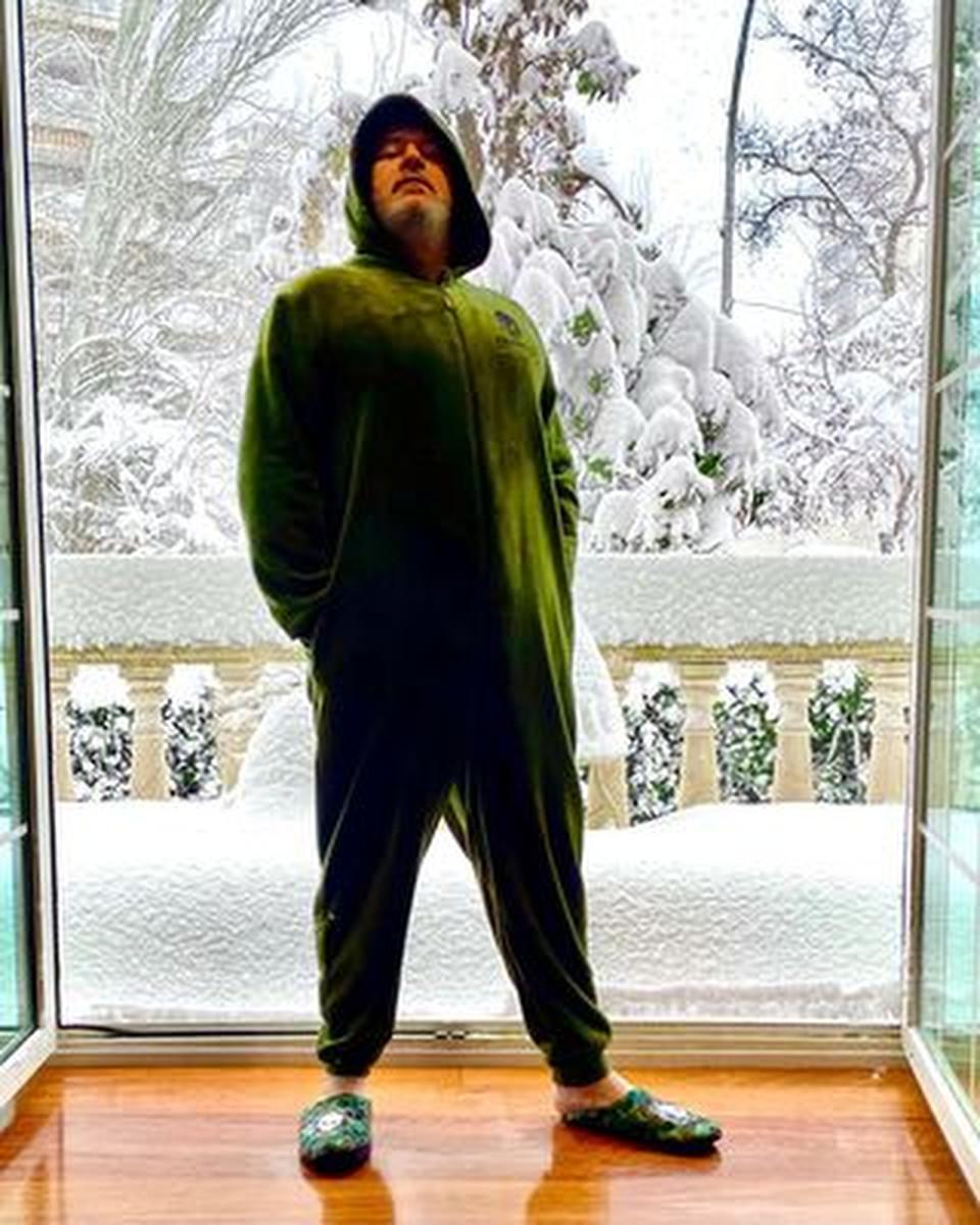 Las locuras de los famosos con la nieve