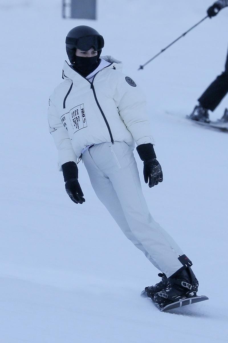 Kendall Jenner en Aspen.