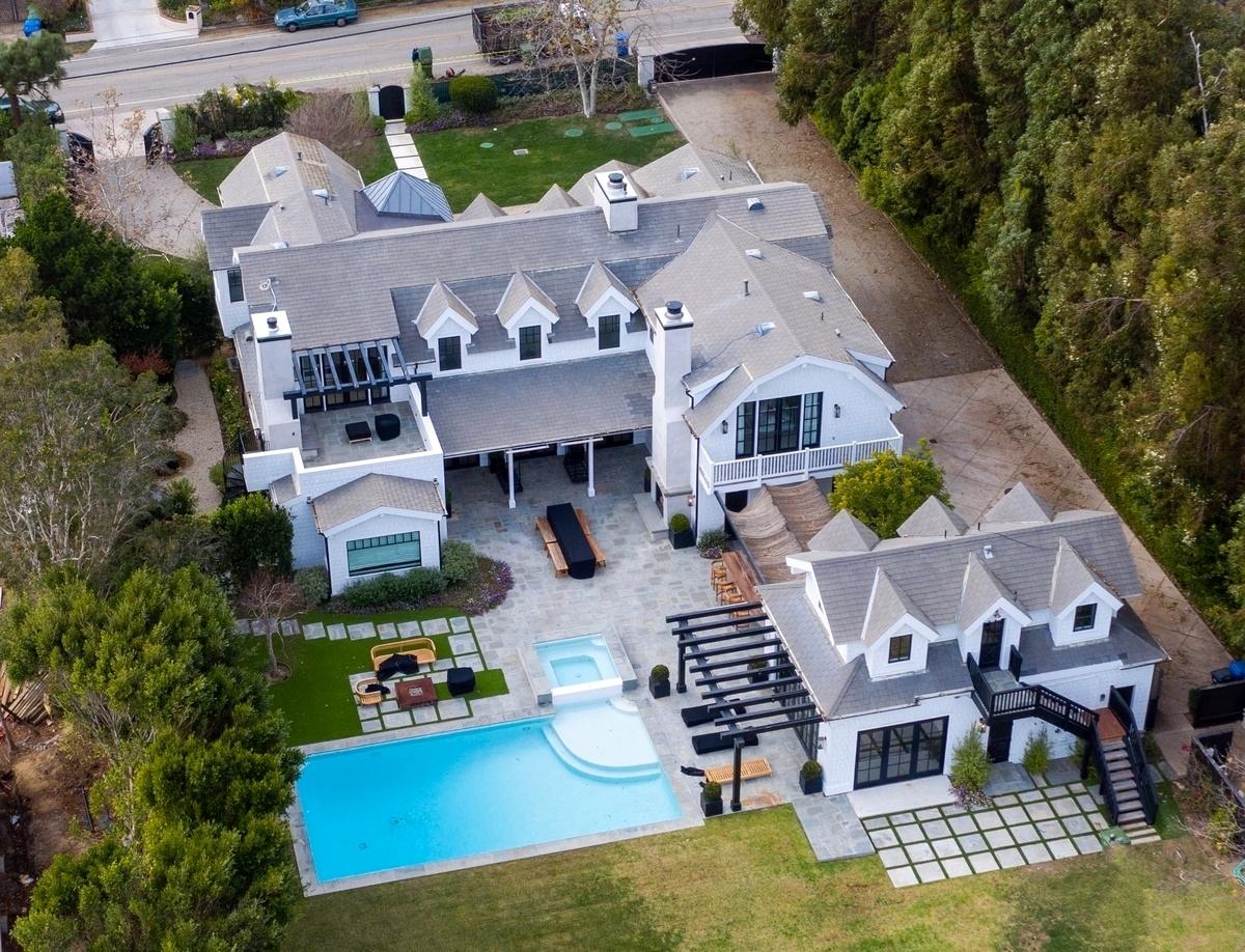 La nueva casa de Dakota Johnson y Chris Martin