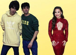 Los Javis y Demi Lovato