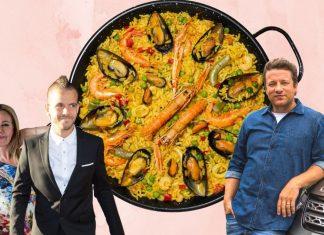 Portada de las paellas más famosas incluyendo la paella de Dabiz Muñoz