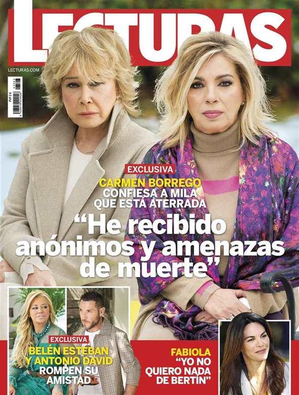 Carmen Borrego exclusiva Lecturas.