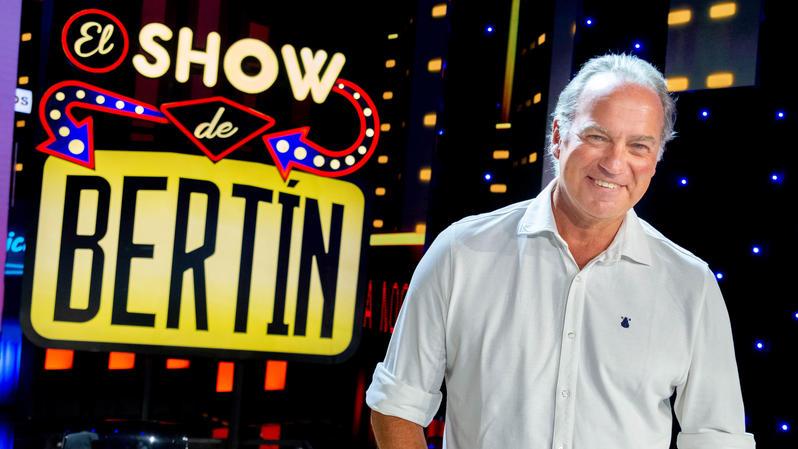 Imagen promocional de el show de bertín, en canal sur