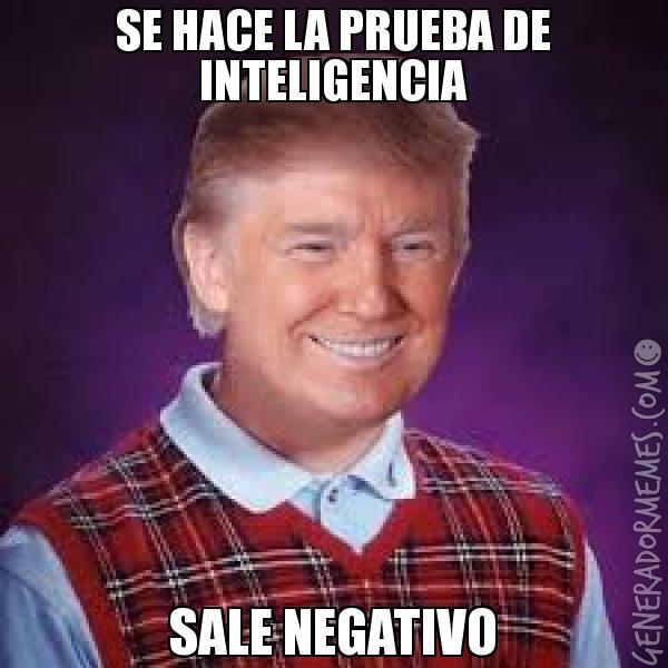 meme de Trump sobre su CI