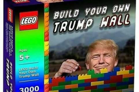 Meme de trump y el muro