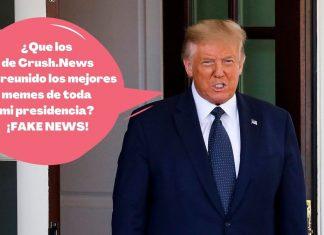 Trump se va y nos deja sus mejores memes