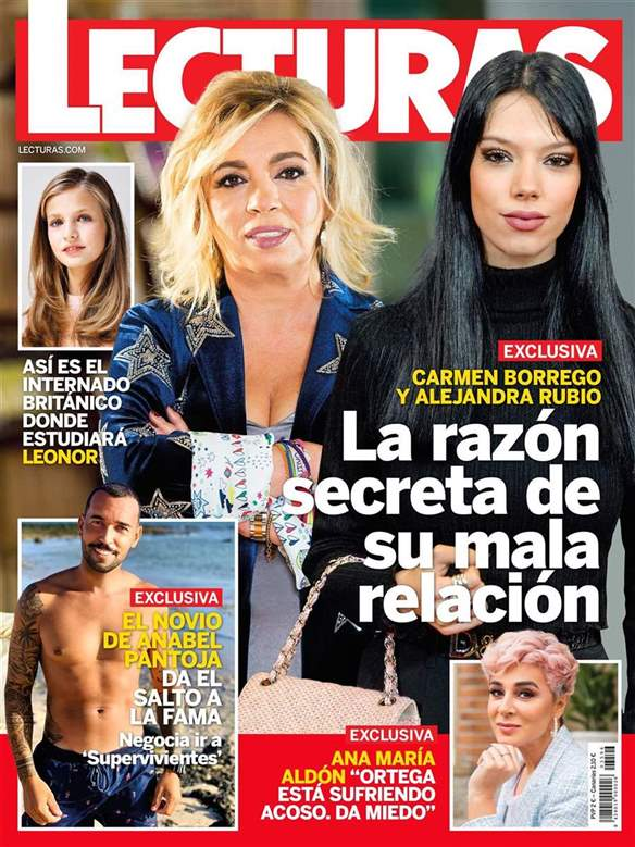 La guerra de Carmen Borrego y Alejandra Rubio en portada.