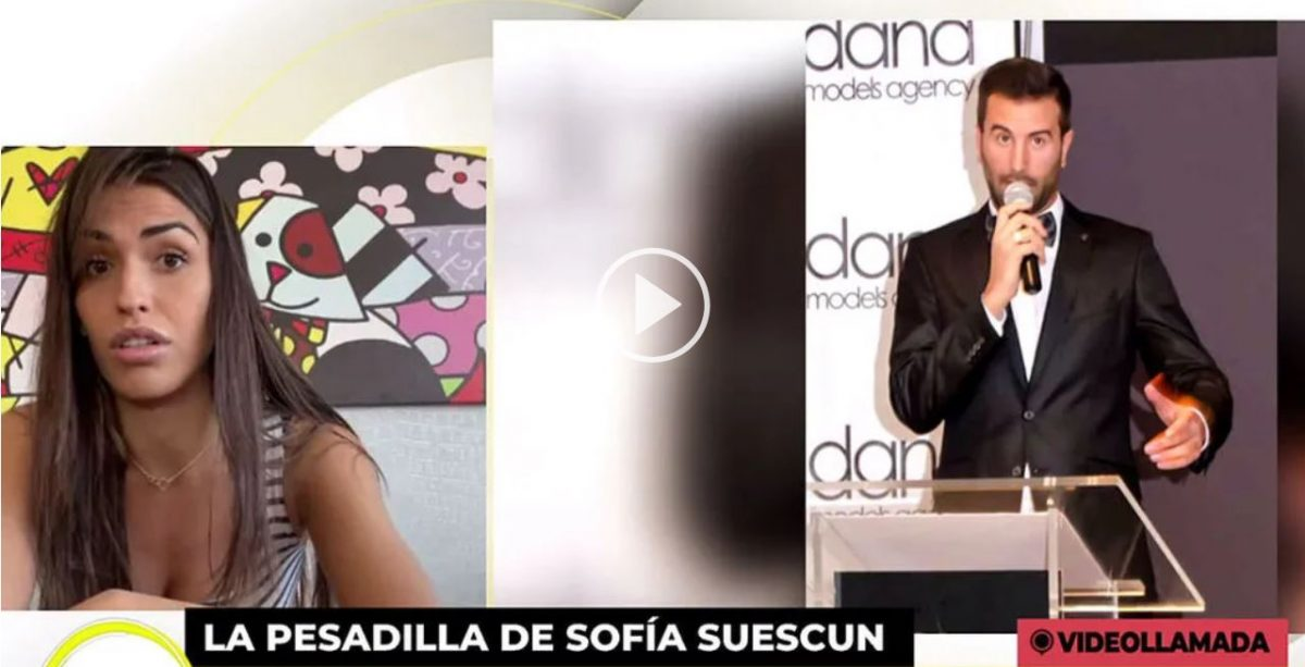 Condenado por grabar a Sofía Suescun desnuda.
