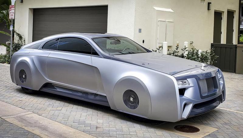 Este es el Rolls Royce futurista que se acaba de comprar Justin Bieber
