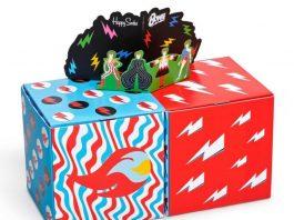 HappySocks diseña calcetines David Bowie en homenaje al artista