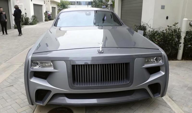 El Rolls Royce tuneado de Justin Bieber