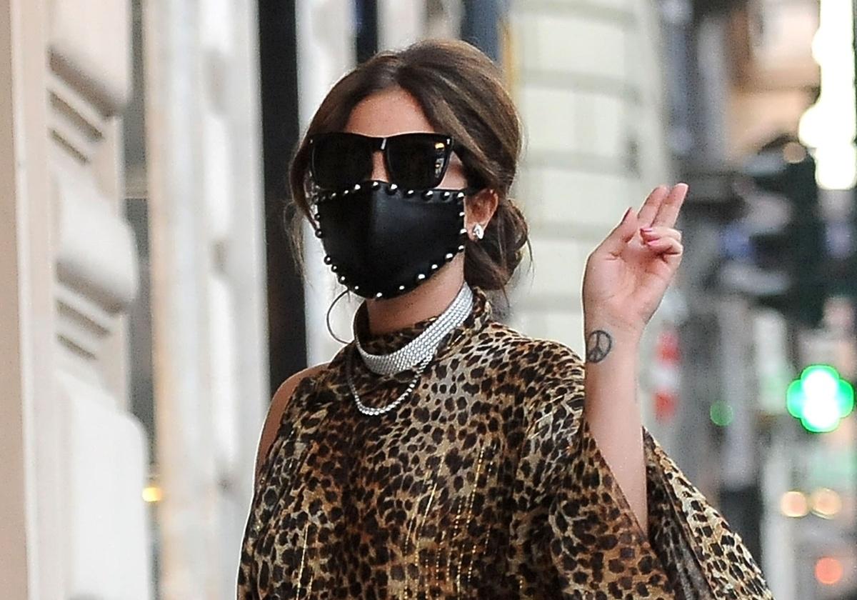 Lady Gaga rueda Gucci en Roma.