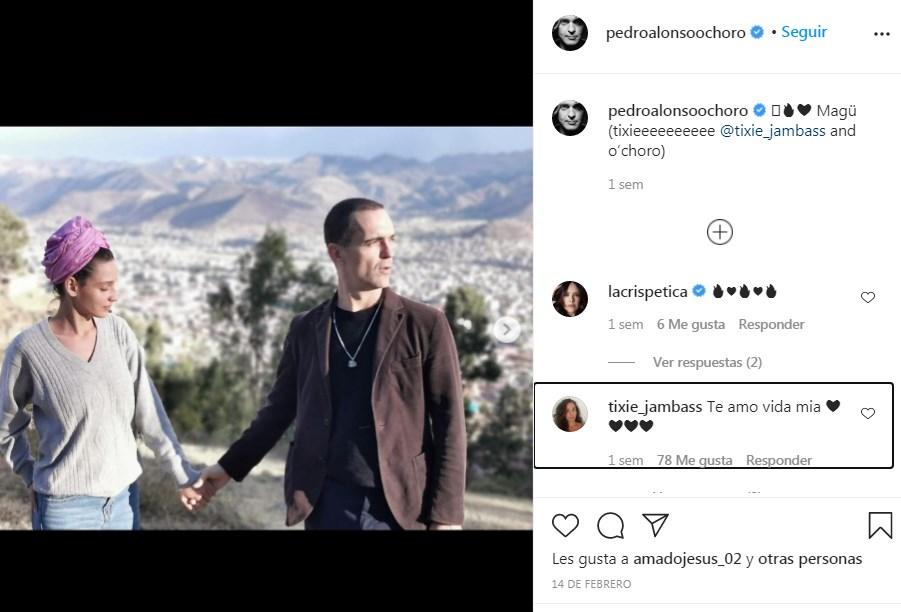 Pedro Alonso sube nuevas fotos junto a su novia Tatiana