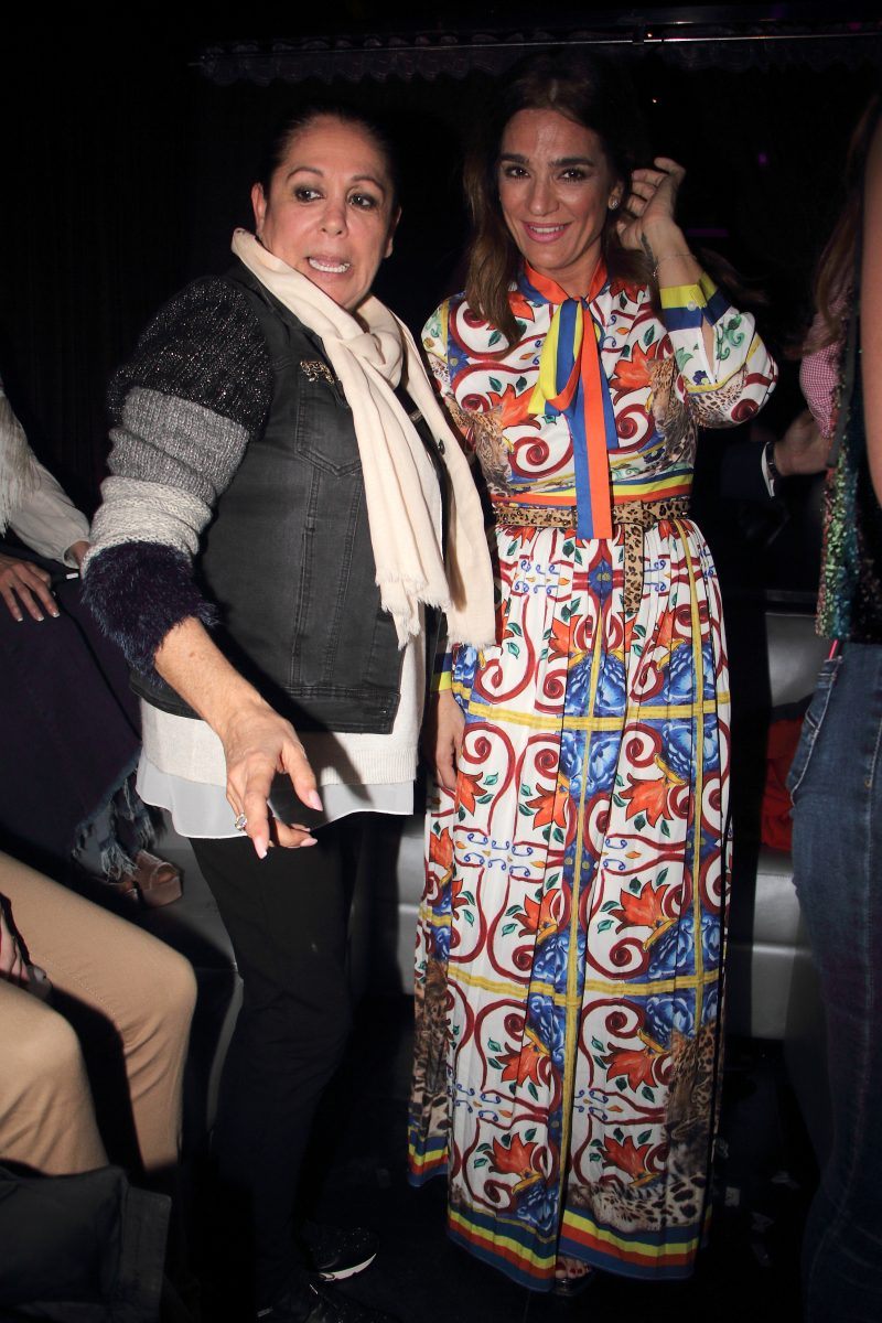 Isabel Pantoja y Raquel Bollo