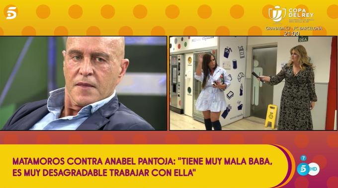 Anabel Pantoja amenaza con dejar Sálvame.