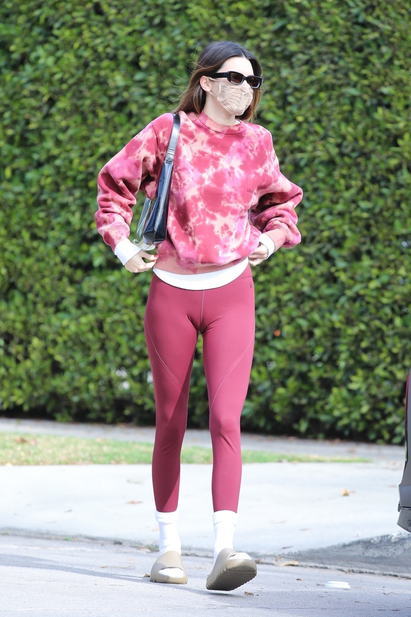 Kendall Jenner sale del gimnasio