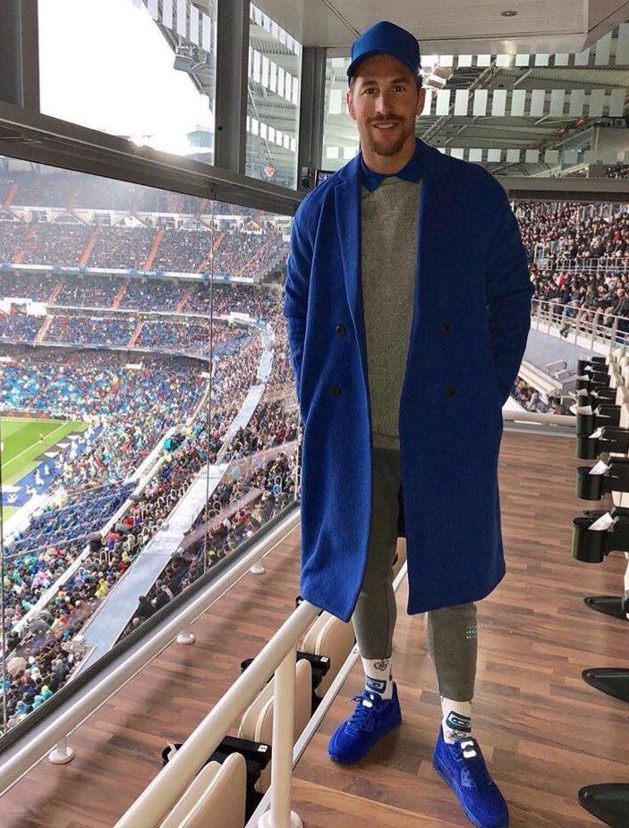 Sergio Ramos en el Bernabéu