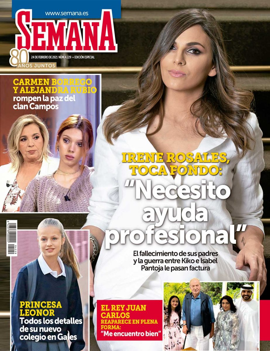 Irene Rosales en portada de Semana,