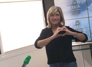 Julia Otero luchadora contra el cáncer
