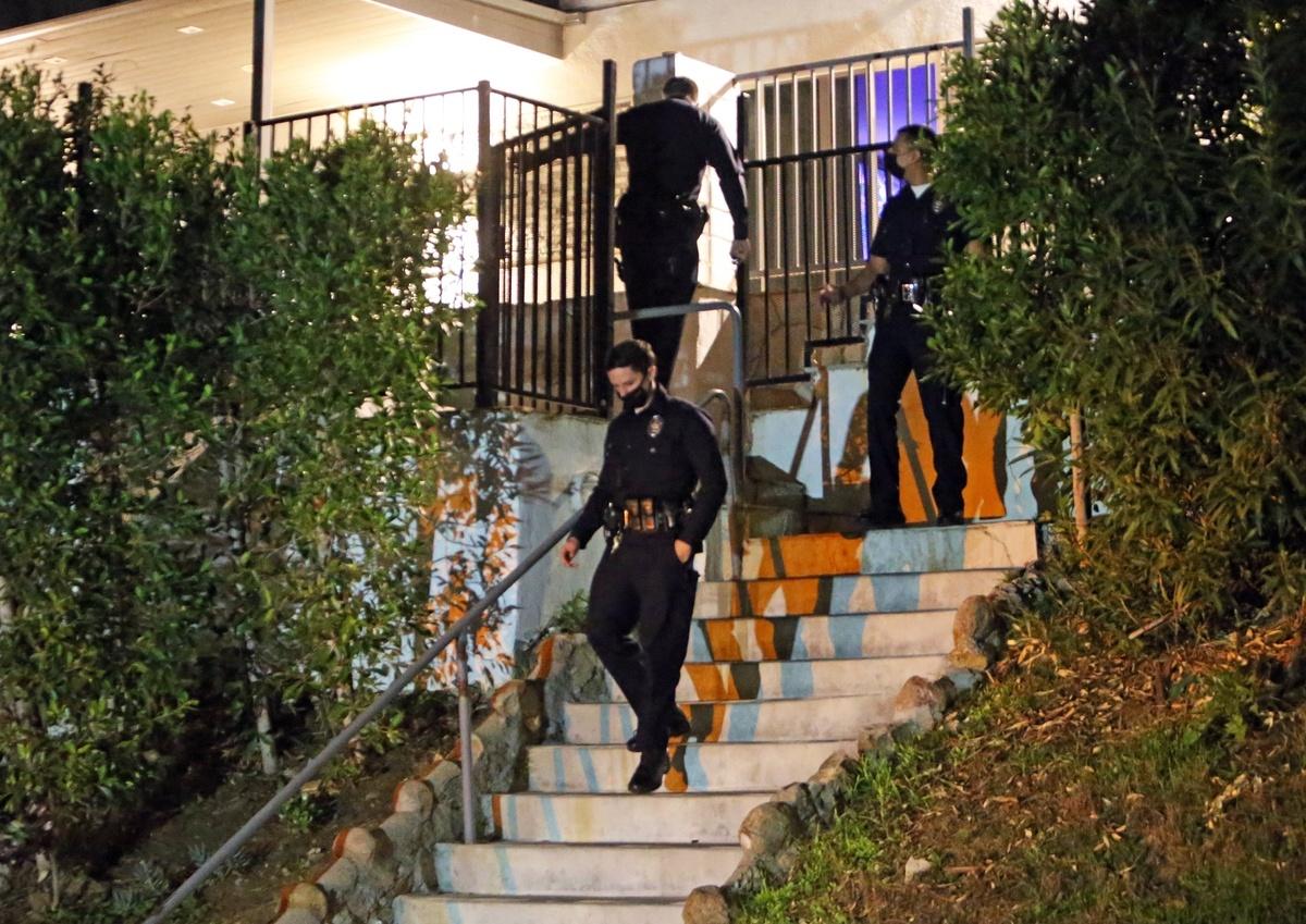 La policía acude a la casa de Marilyn Manson