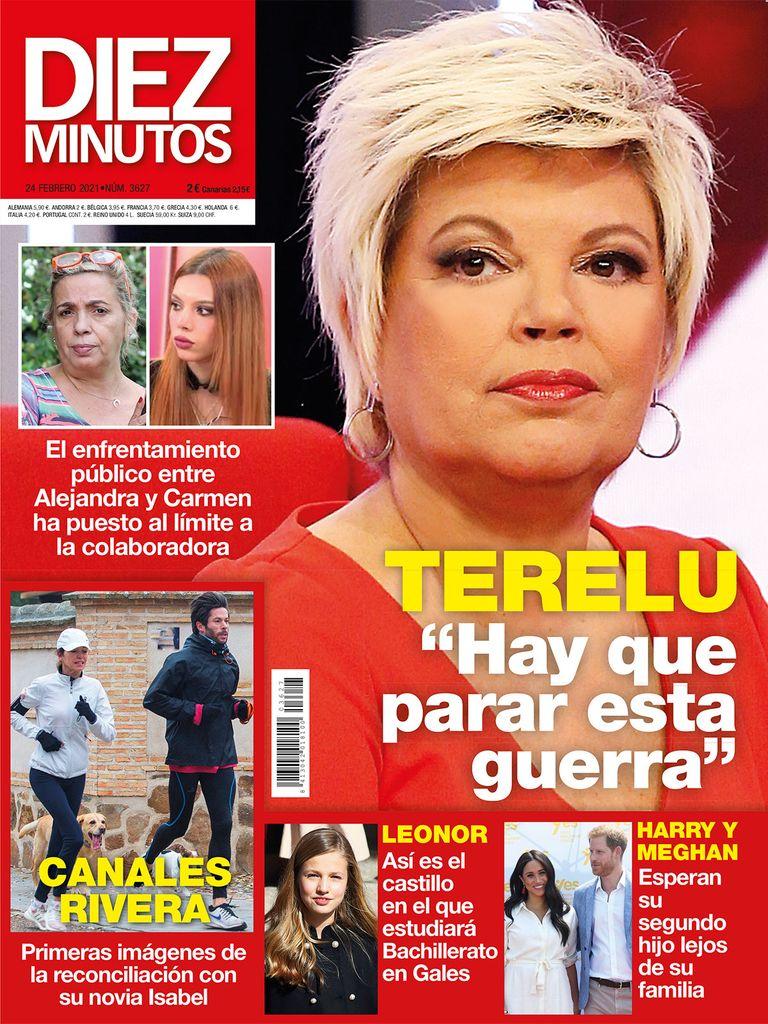 Terelu Campos en portada.