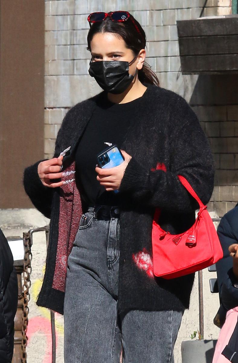 El look de Rosalía en Nueva York
