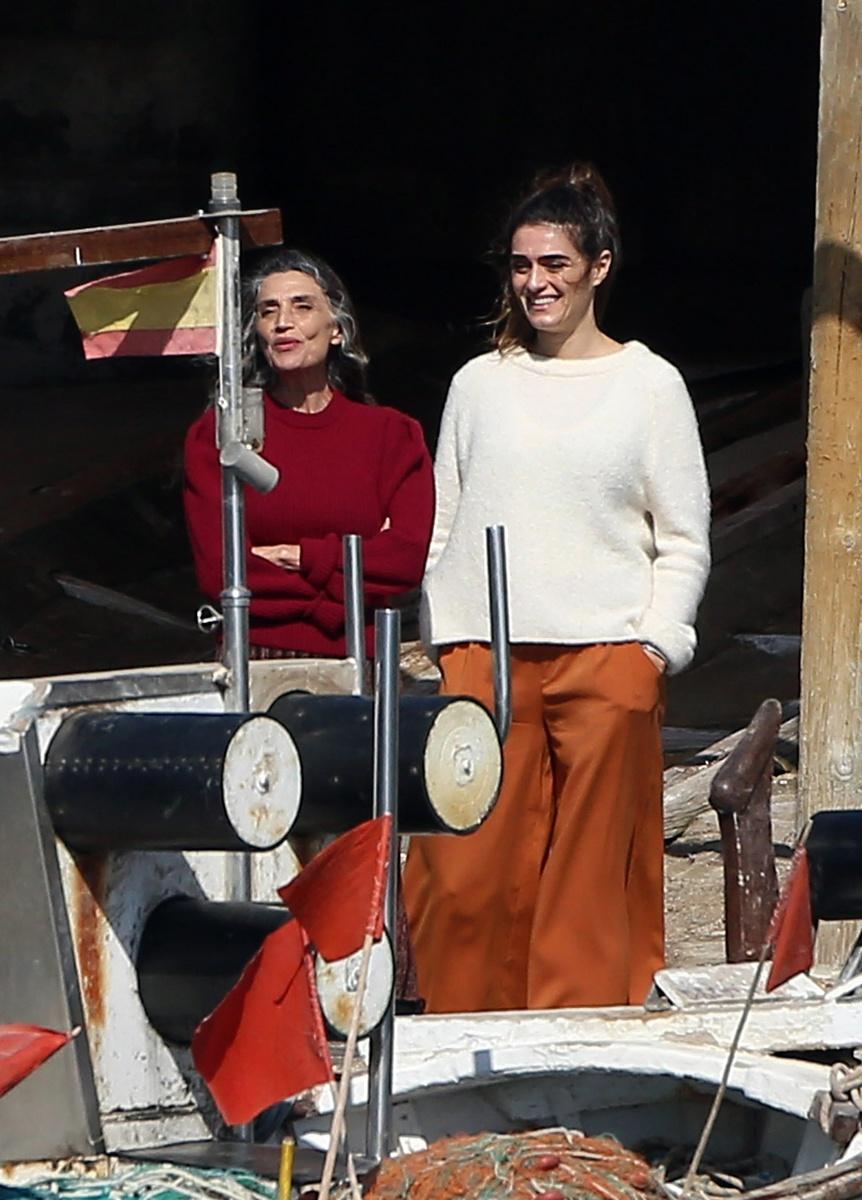 Olivia y Ángela Molina juntas en Ibiza