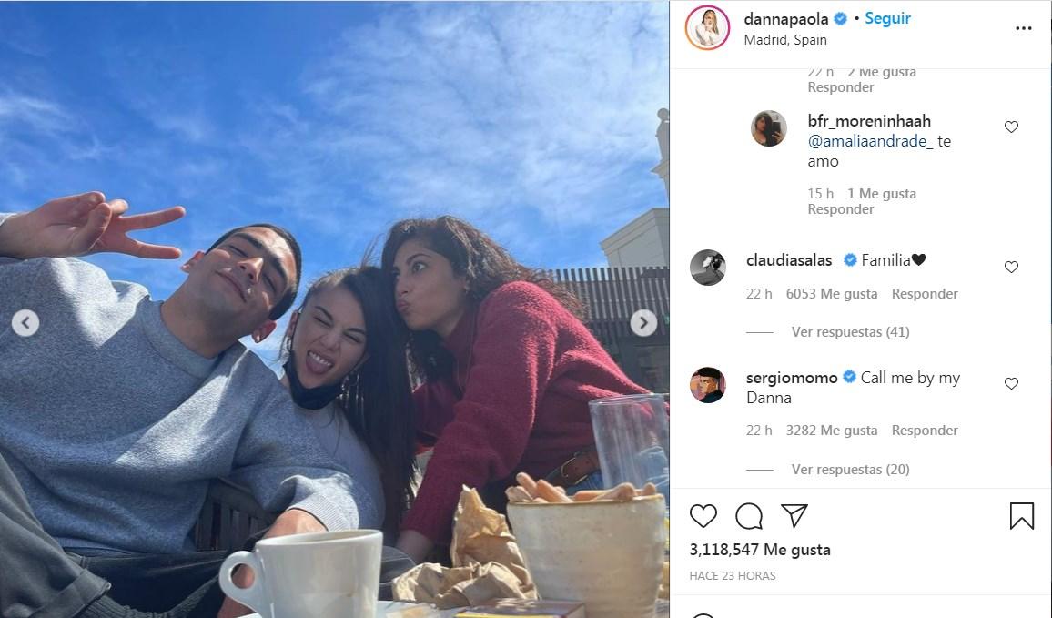Reencuentro Élite: Danna Paola, Mina El Hammani, Omar Ayuso y Claudia Salas en Madrid