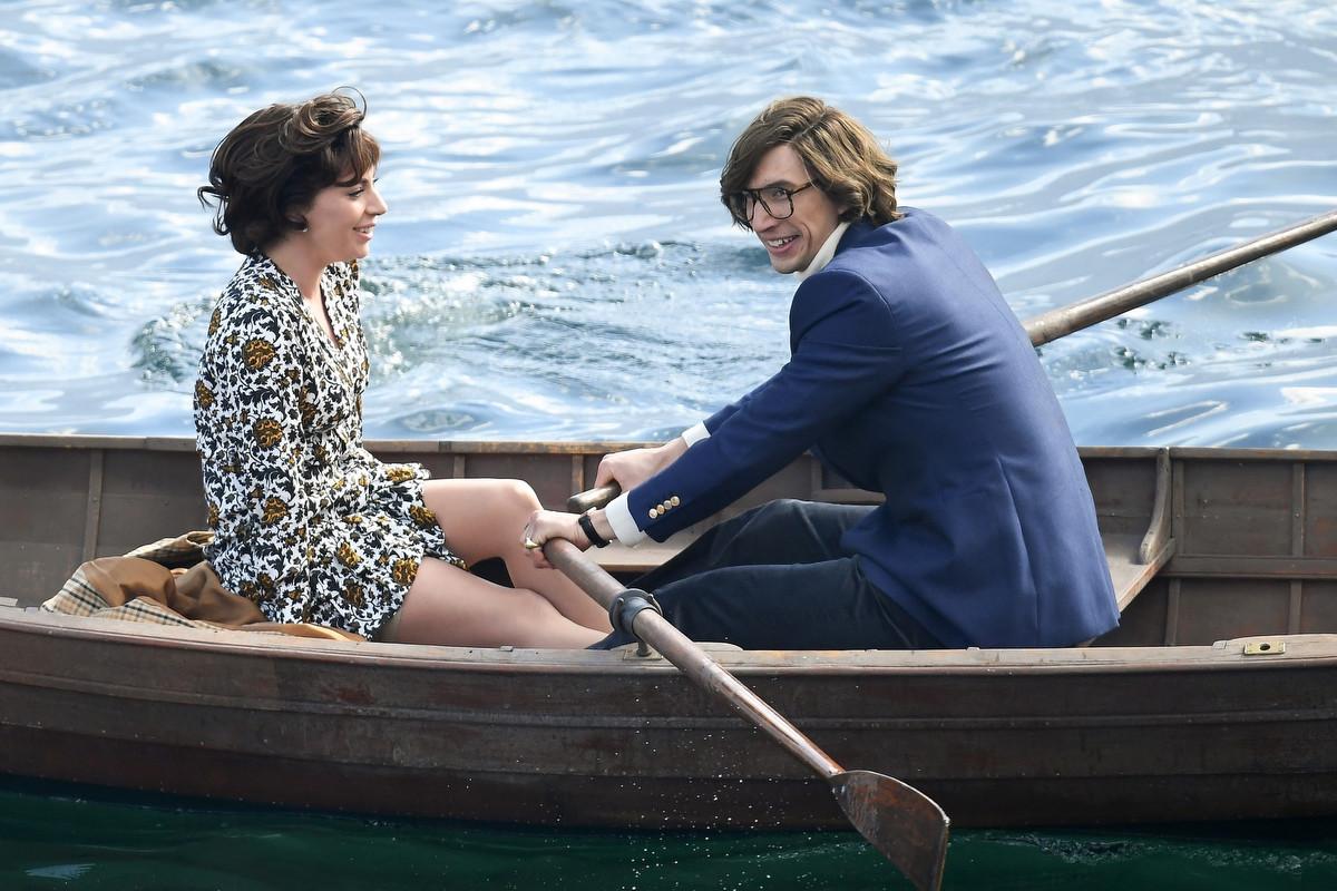 El beso de Lady Gaga y Adam Driver en House of Gucci fue en el Lago Como