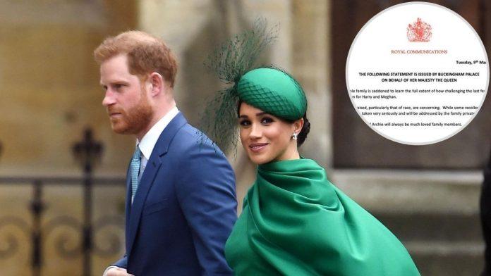 En la foto, Harry y Meghan, que han desatado una gran crisis en la familia real británica